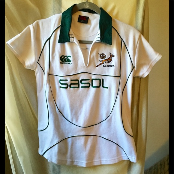 Kids T-Shirt Tops South African Springbok Unisex Youths Short Sleeve T-Shirt